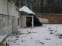 Rozbouraná střelnice 14.1.2013